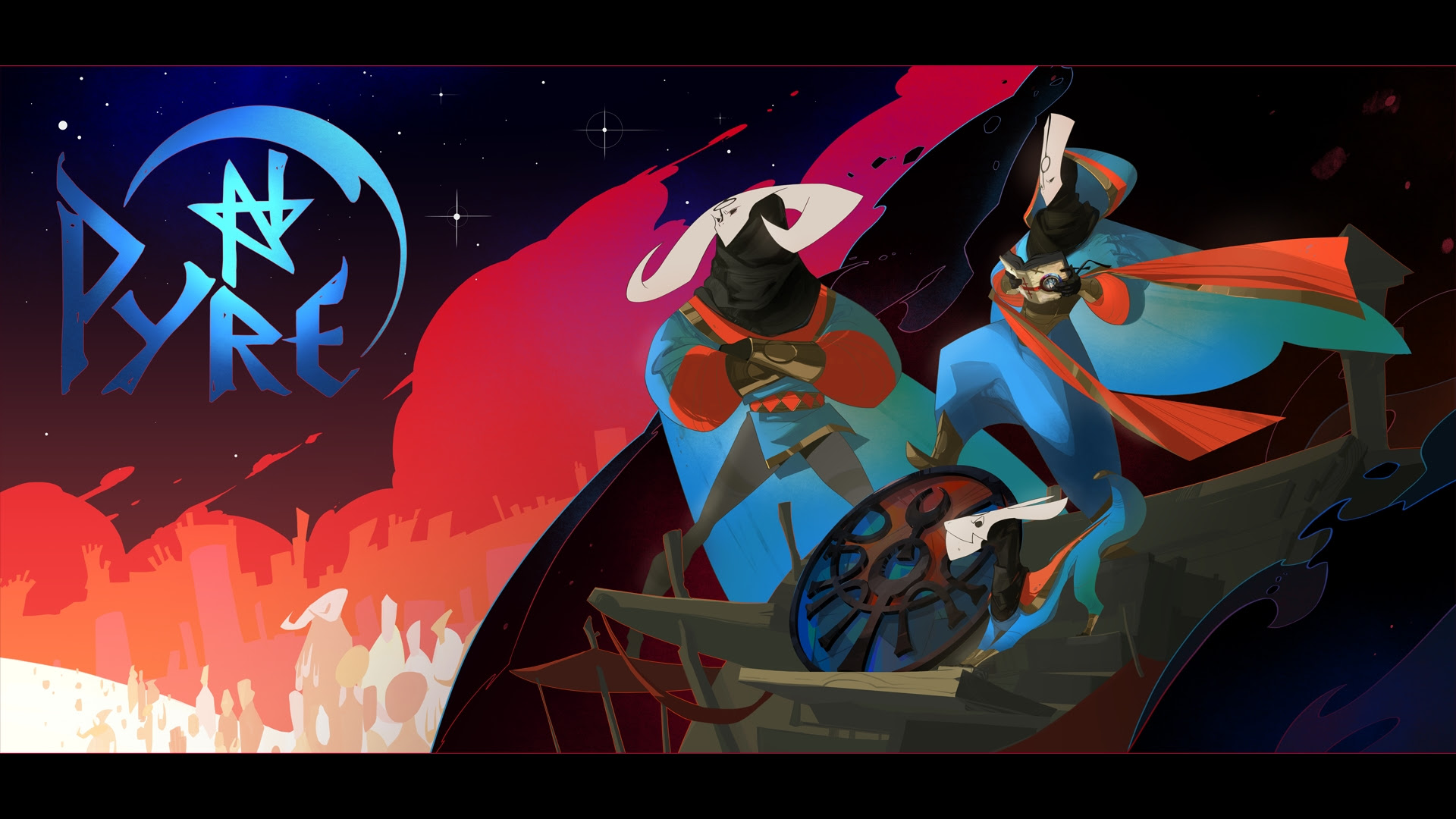 Pyre is like a mystical version of NBA Jam and I love it screenshot