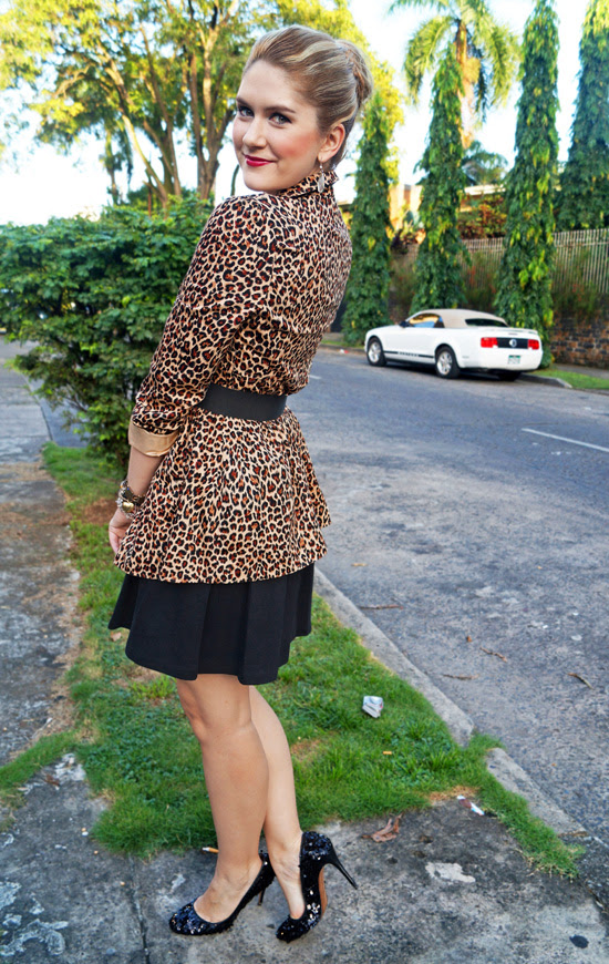 Chic and Elegant in Leopard