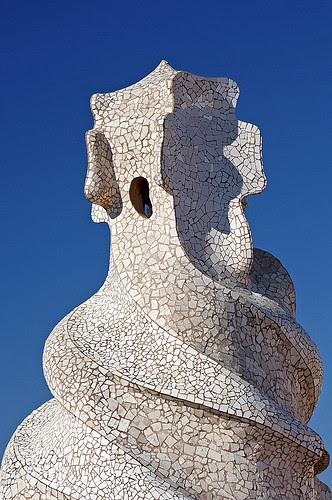 Detalle de La Pedrera, Antoni Gaudí, by jmhdezhdez