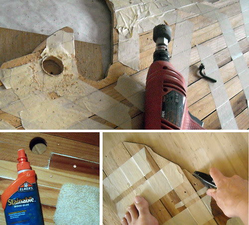 Building up Porch