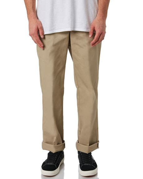dickies  slim straight work pant khaki surfstitch