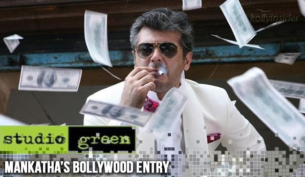 Studio Green takes 'Mankatha' to Bollywood