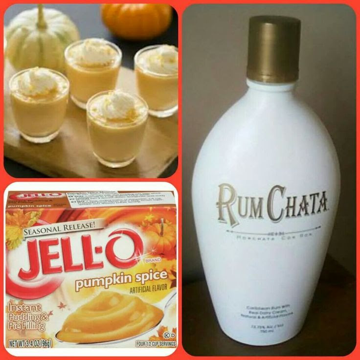 Rum chata pumpkin spice