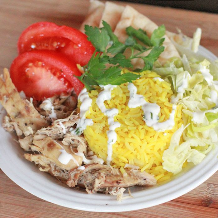 The Halal Guys Chicken and Rice is one of my favorite frugal New York street food experiences. Located on the corner of 53rd and 6th, New Yorkers and tourists alike line up for a taste of this mou...