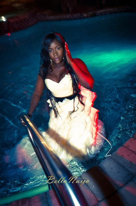 """A Must See: BN Bride Naomi Achu """"Trashed The Dress"""