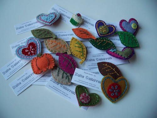 brooches ready to go!