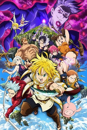 Nanatsu no Taizai Movie: Tenkuu no Torawarebito [HD] [Mega]