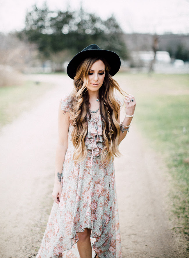 A Mother Daughter Photoshoot Boho Hair Tutorial Inspired By This