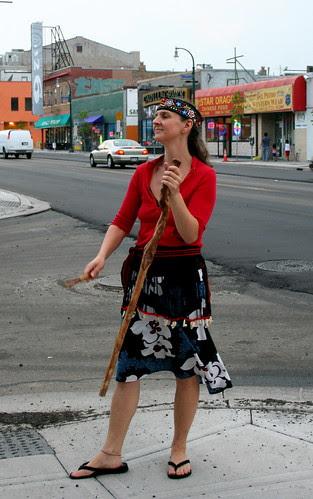 Kari Tauring on Lake Street