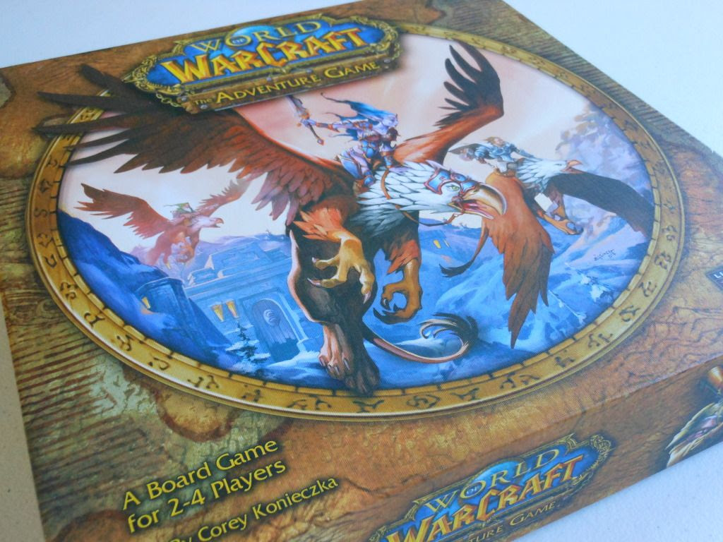 World of Warcraft: The Adventure Game box