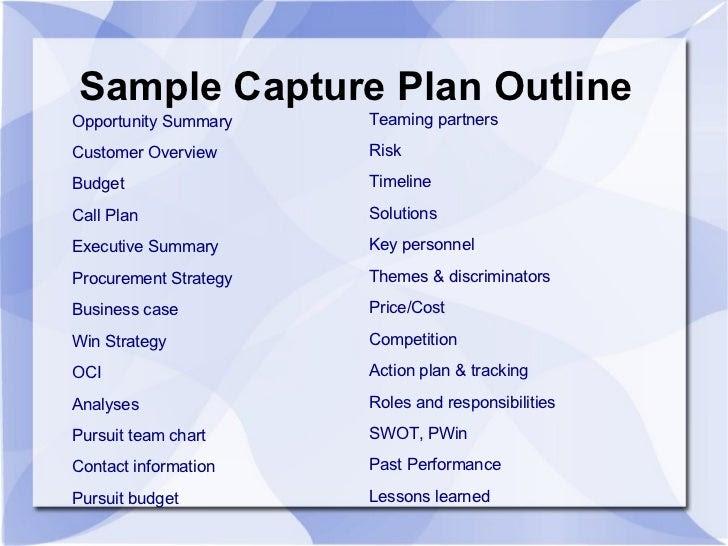 capture management overview 18 728