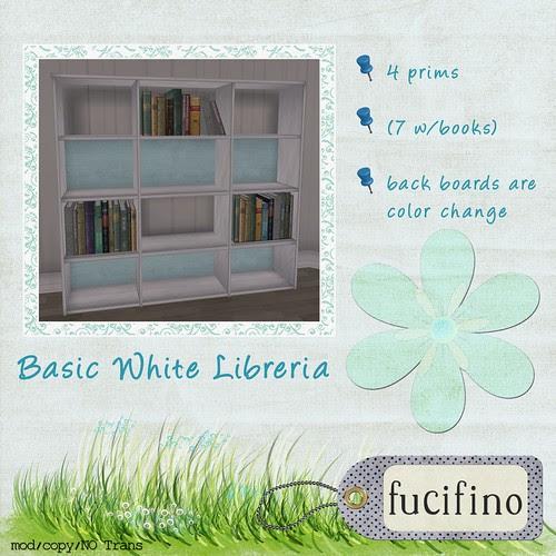 fucifino - Basic White Libreria