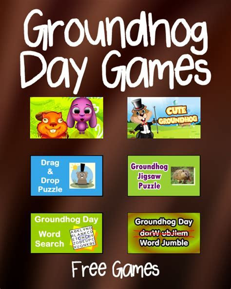 Groundhog Day Games   PrimaryGames   Play Free Online Games
