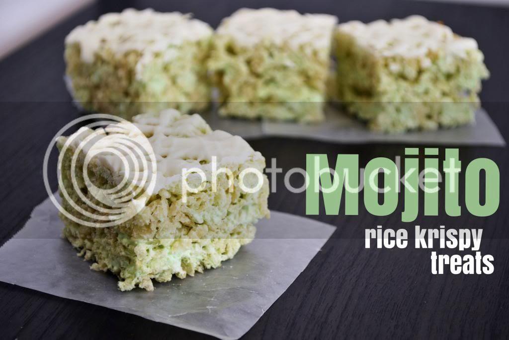 Mallow and Co: Mojito Rice Krispy Treats