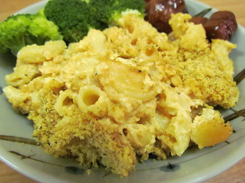 Five-Cheese Baked Macaroni and Cheese