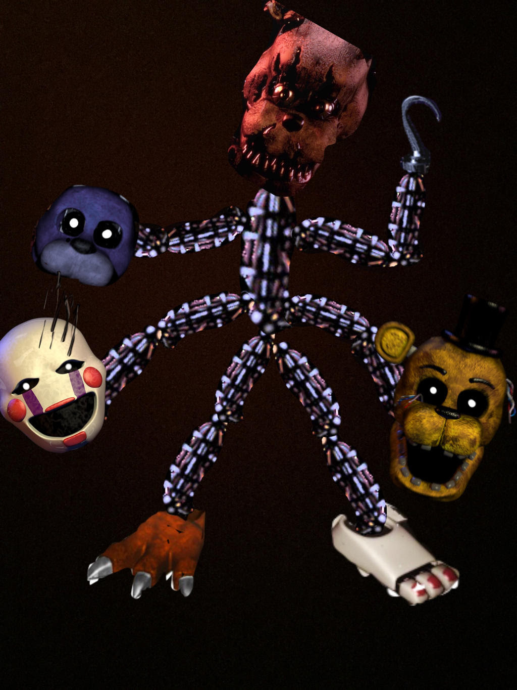 Fnaf Fan Made Characters - fondo de pantalla tumblr