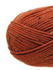 Plymouth Yarn® Encore Tweed Pumpkin