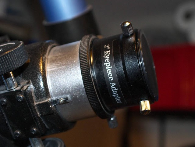 "Telescope focuser with 2"" eyepiece adaptor"