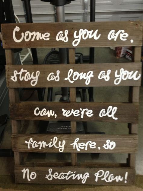 Pallet Wedding seating sign   crafty things   Pinterest