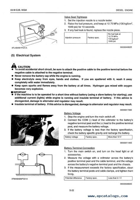 Download Kubota Engine Base 03-M-E2B Manual for Hyundai