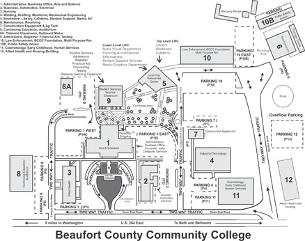 Coastal Carolina Community College Map Del Mar College Campus Map   Campus Map