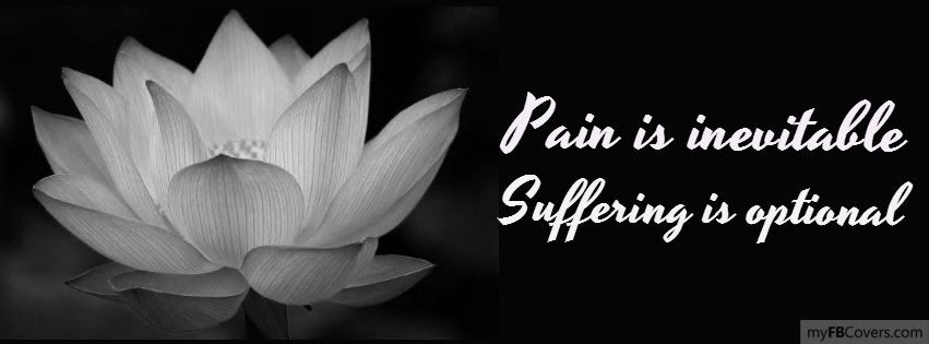 Pain Is Inevitable Suffering Is Optional Facebook Covers Myfbcovers