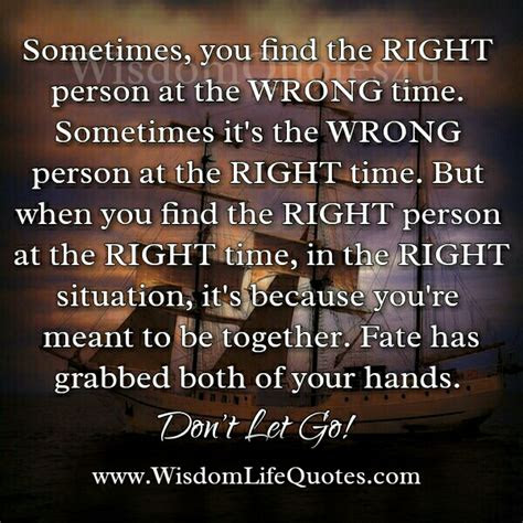 To Find The Right Person Quotes