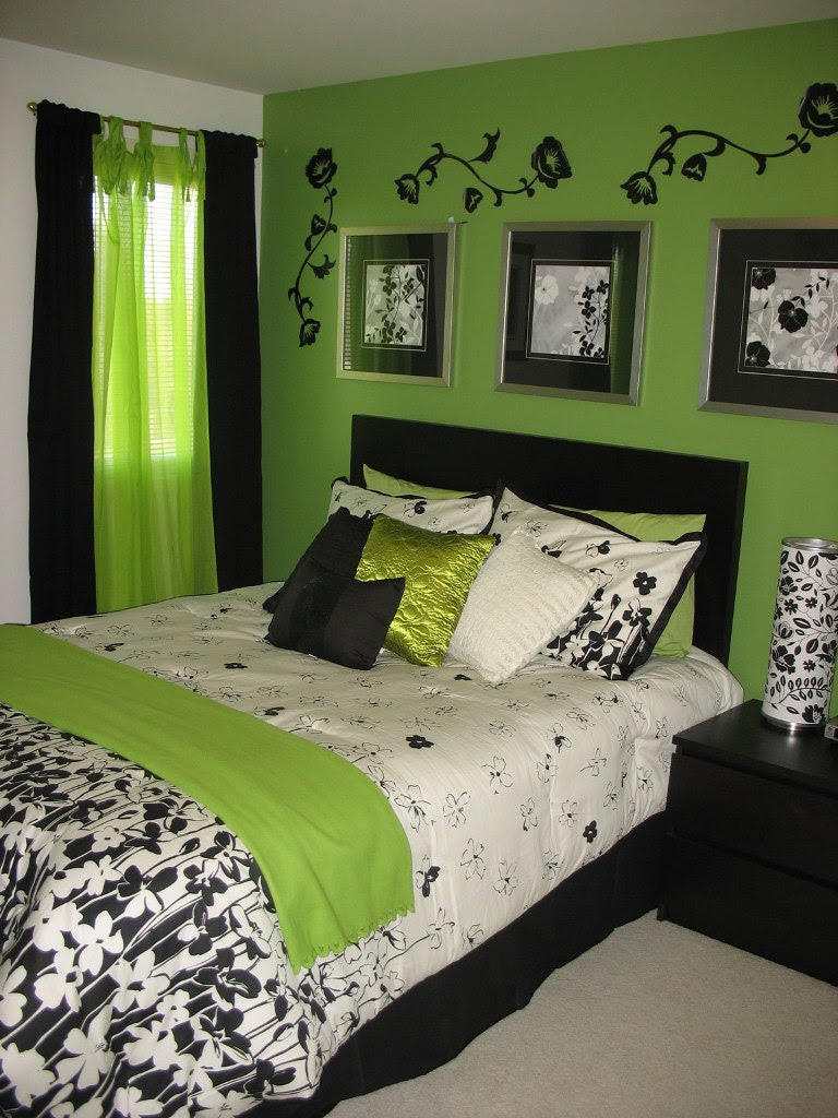 15 Awesome Green Bedroom Design Ideas - Decoration Love