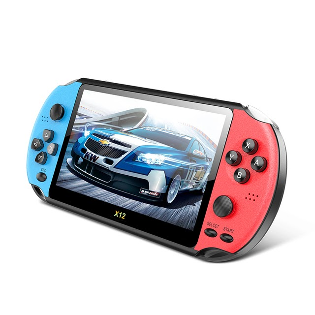 Limited Offer X12 pro video game retro consoles portatil handheld game players 2000 games 5.1 inch screen Childrens handheld GBA games