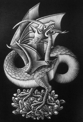 ESCHER, DRAGON