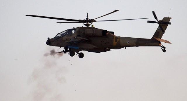 Helicóptero de Israel ataca Hamas em resposta a foguete lançado a partir de Gaza