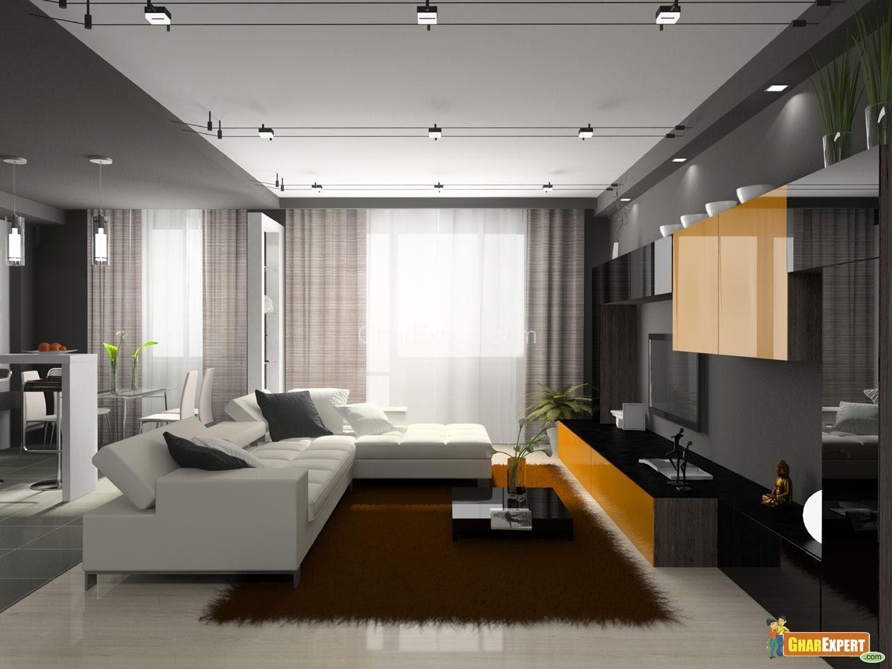 Modern Living Room | Modern Living Room Furnishing | Modern Living ...