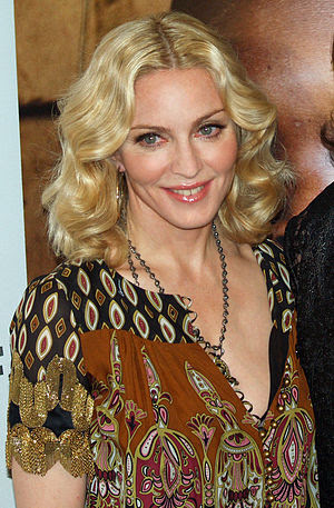 Madonna at the premiere of I Am Because We Are...