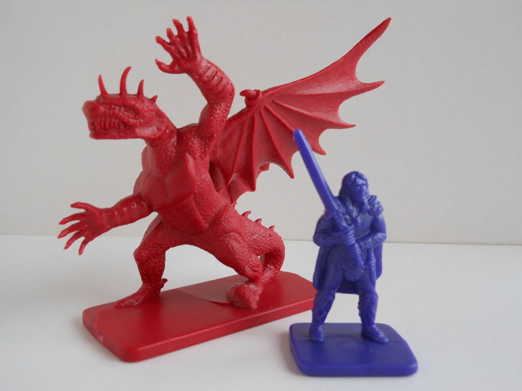 Dragon Strike dragon and barbarian