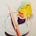 呂浩元‧王哥‧油彩、畫布‧72.5x60.5cm‧2012