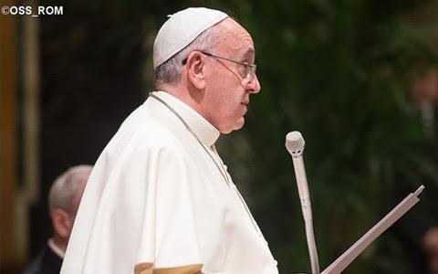 Francisco destaca que reforma da Cúria não e um fim em si mesma / Foto: Arquivo - L'Osservatore Romano