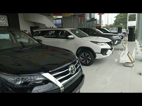 VIDEO: Toyota FORTUNER 4x2V vs 4x2G vs 4x2TRD Sportivo   Side by side comparison (Philippines)