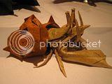 PCOC origami crab