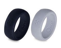Men's Grey Silicone Ring   Grey, Alternative wedding and