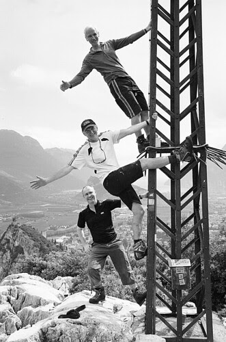Via ferrata - mucking about
