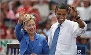 Hillary & Barack in Unity, NH - 6/27/2008