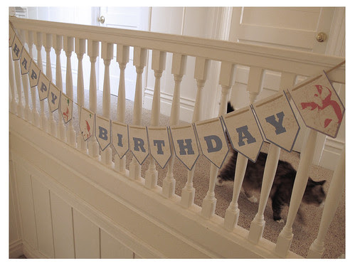 DIY Happy Birthday Bunting