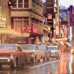 PHOTO - TORONTO - YONGE STREET - LOOKING S - FRIARS TAVERN WAS 283 YONGE - 1964