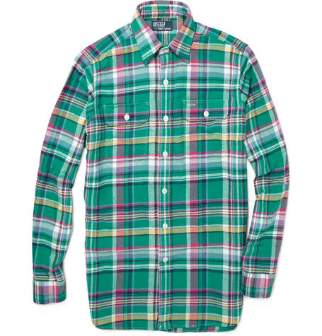 Polo Ralph LaurenPlaid Flannel Shirt