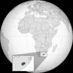 Vị trí của Lesotho