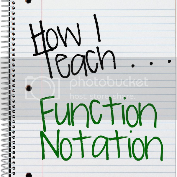 teaching-function-notation