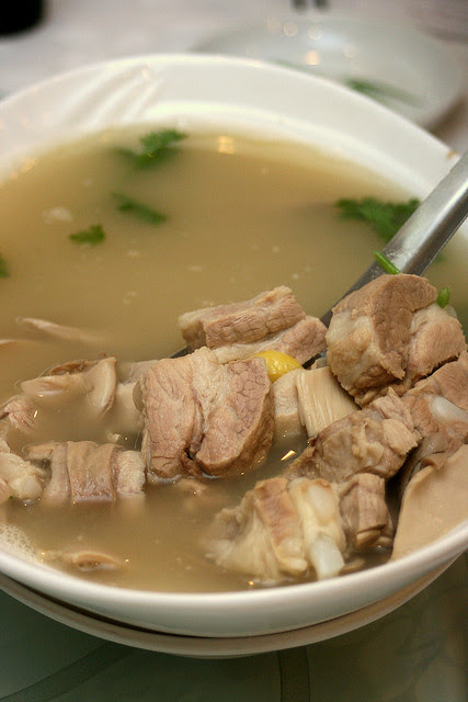 Pepper Pig stomach soup - not to be confused with Peppa Pig!