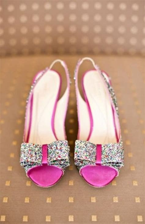 sparkly wedding shoes glitter finish leather pump