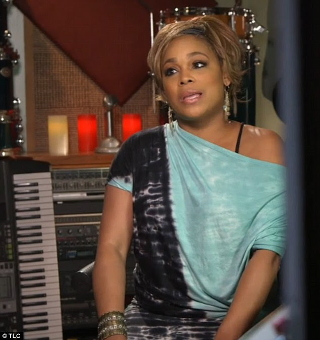 The hard road to comeback: Tionne 'T-Boz' Watkins has decided to ring in the New Year with a show of her very own, Totally T-Boz, on the aptly named network, TLC