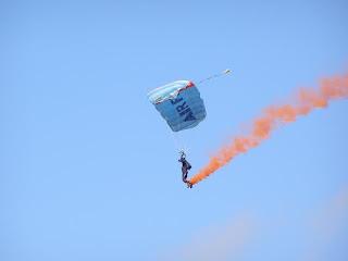 Kiwi Blue Parachutist